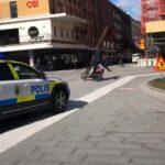 Pościg szwedzkiej policji