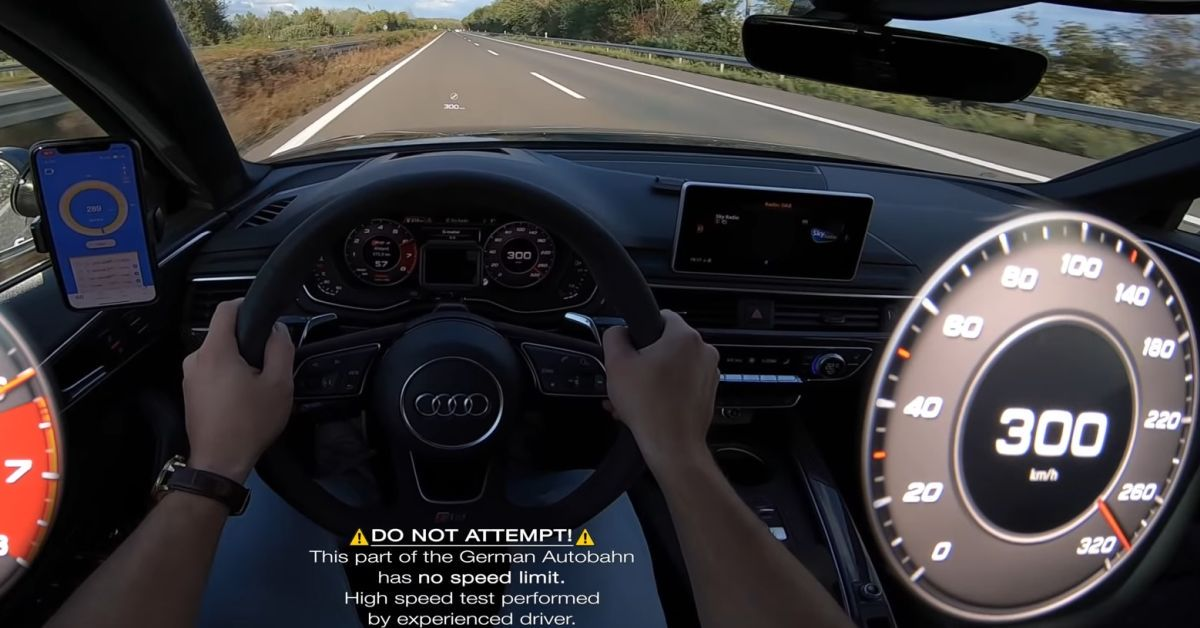 Audi RS4 540 HP acceleration