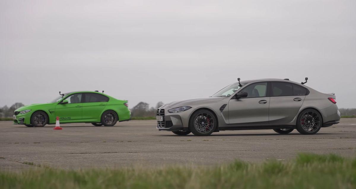 BMW M4 F80 vs old M3