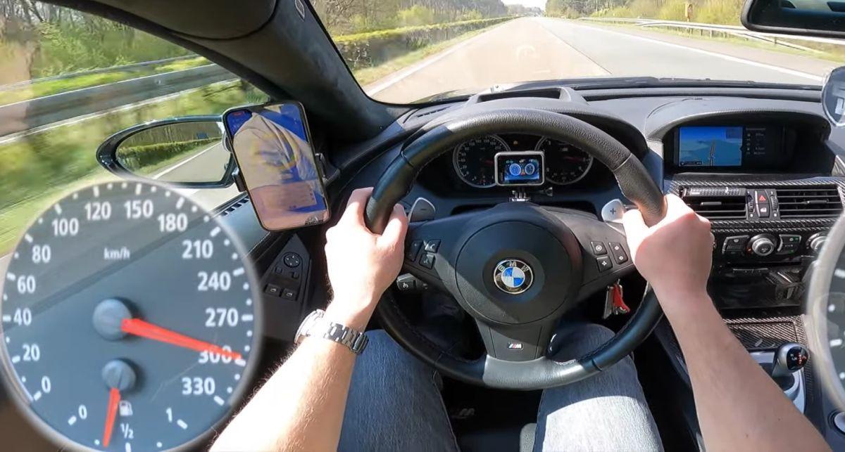 BMW M6 E63 acceleration