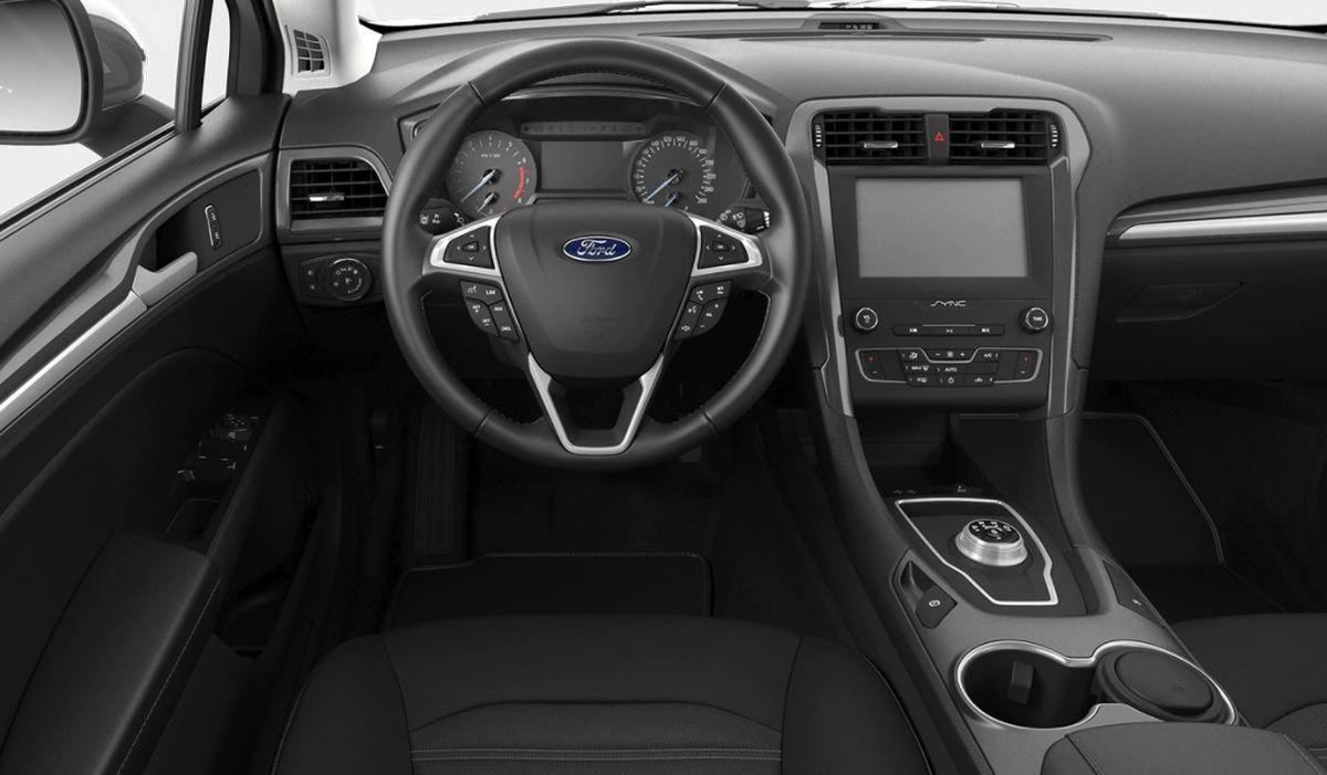 Ford Mondeo Trend wnętrze