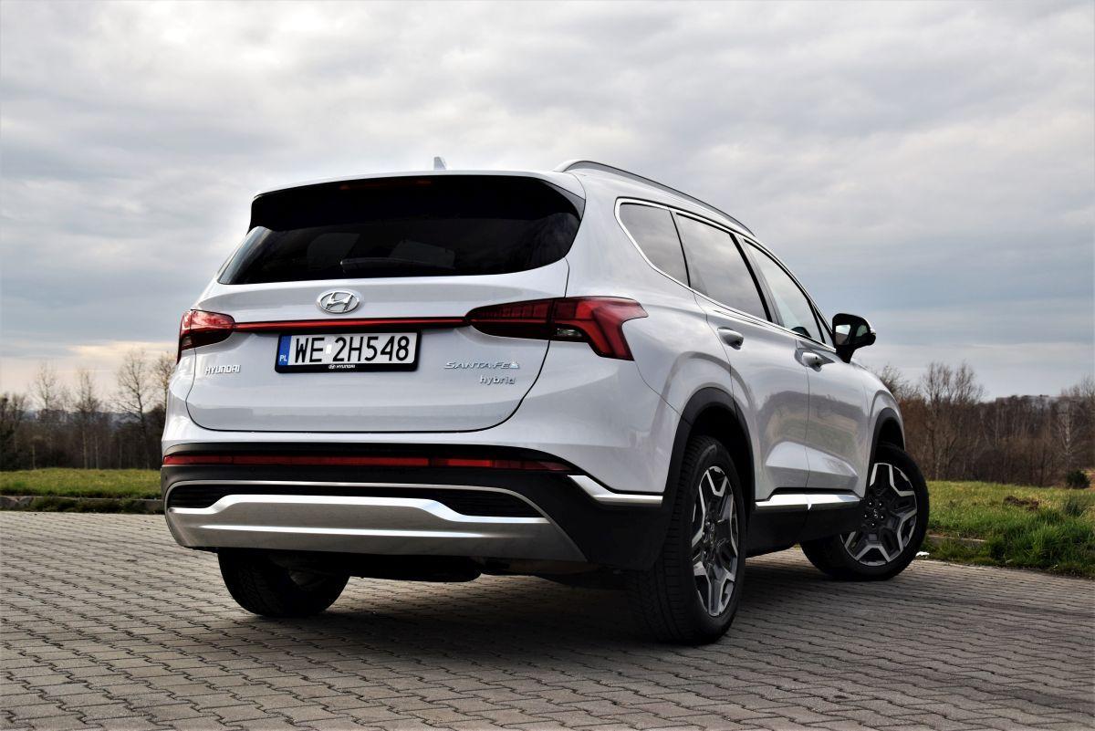 Hyundai Santa Fe design 2021