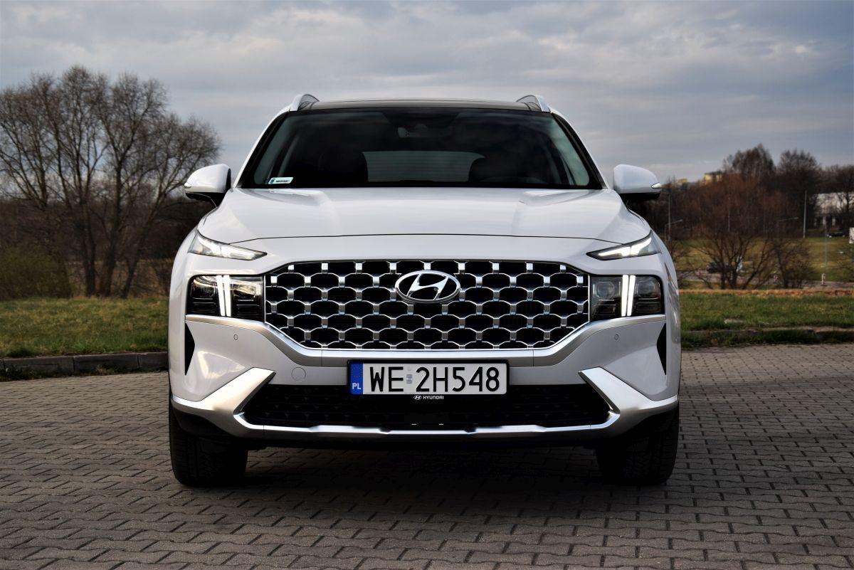 Hyundai Santa Fe wrażenia zjazdy