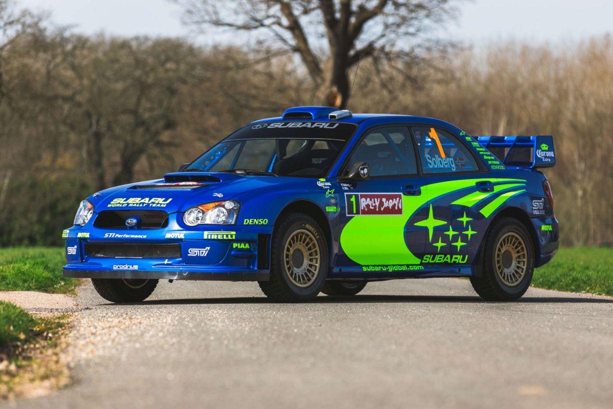 Subaru Impreza WRC Solberg