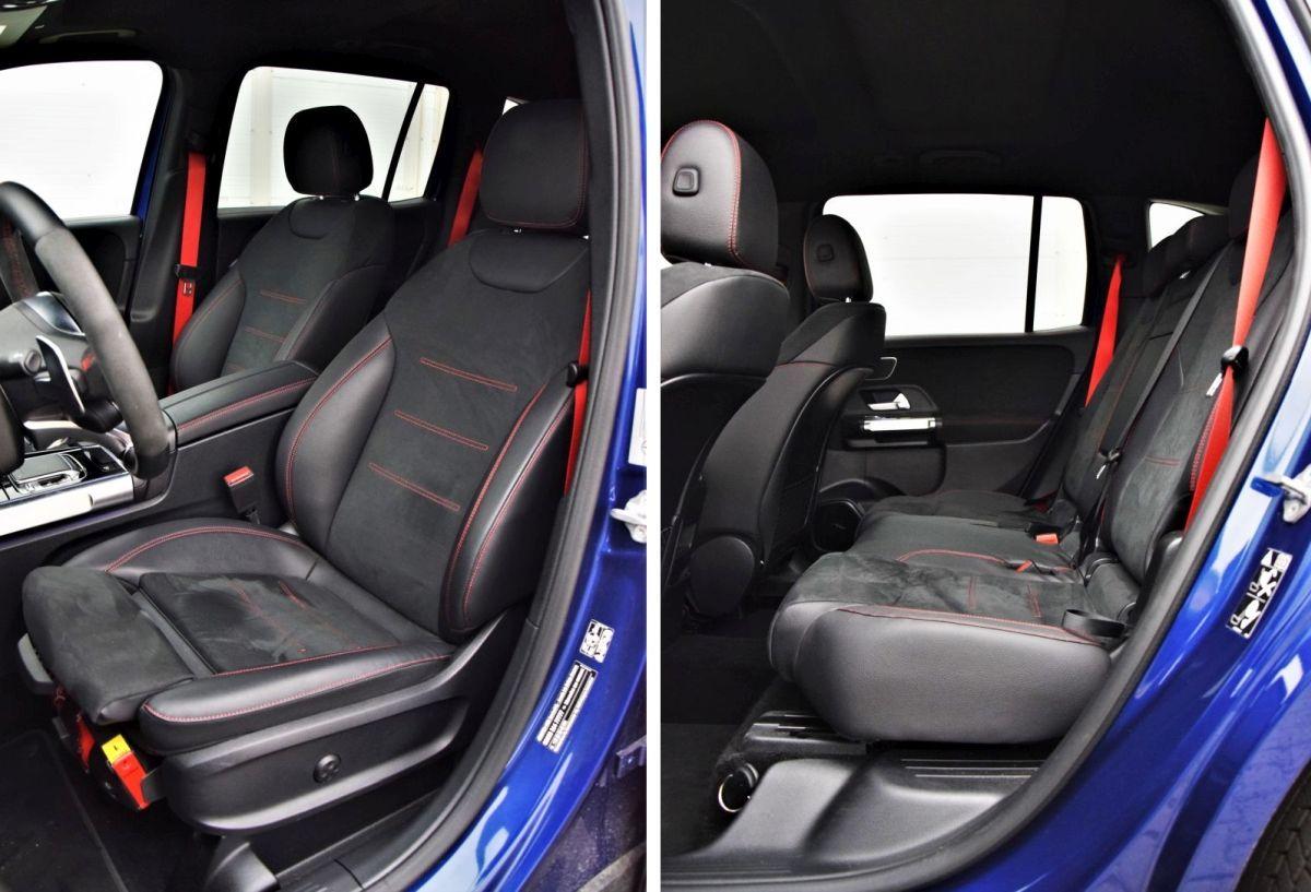 Mercedes-AMG GLB 35 4MATIC interior