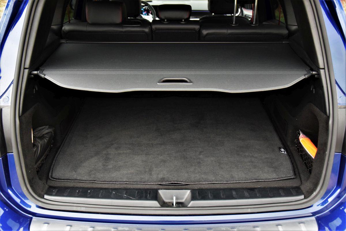 Mercedes-AMG GLB 35 bagażnik