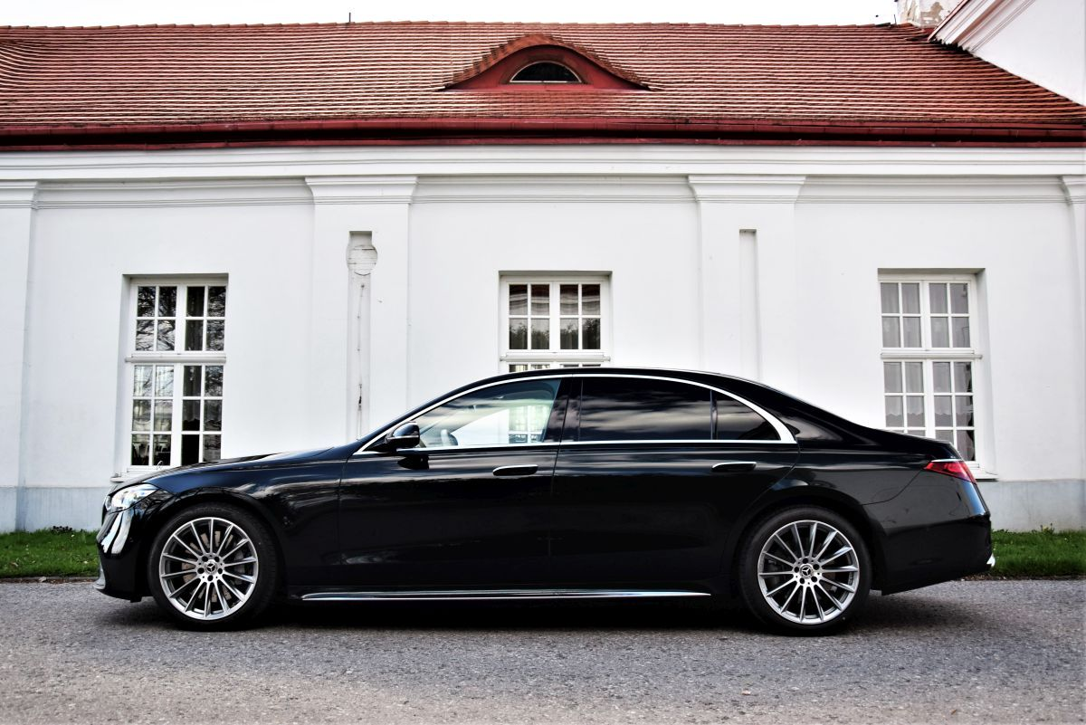 Mercedes-Benz S 500 4MATIC L wymiary