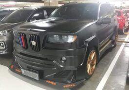 BMW X5 strange tuning