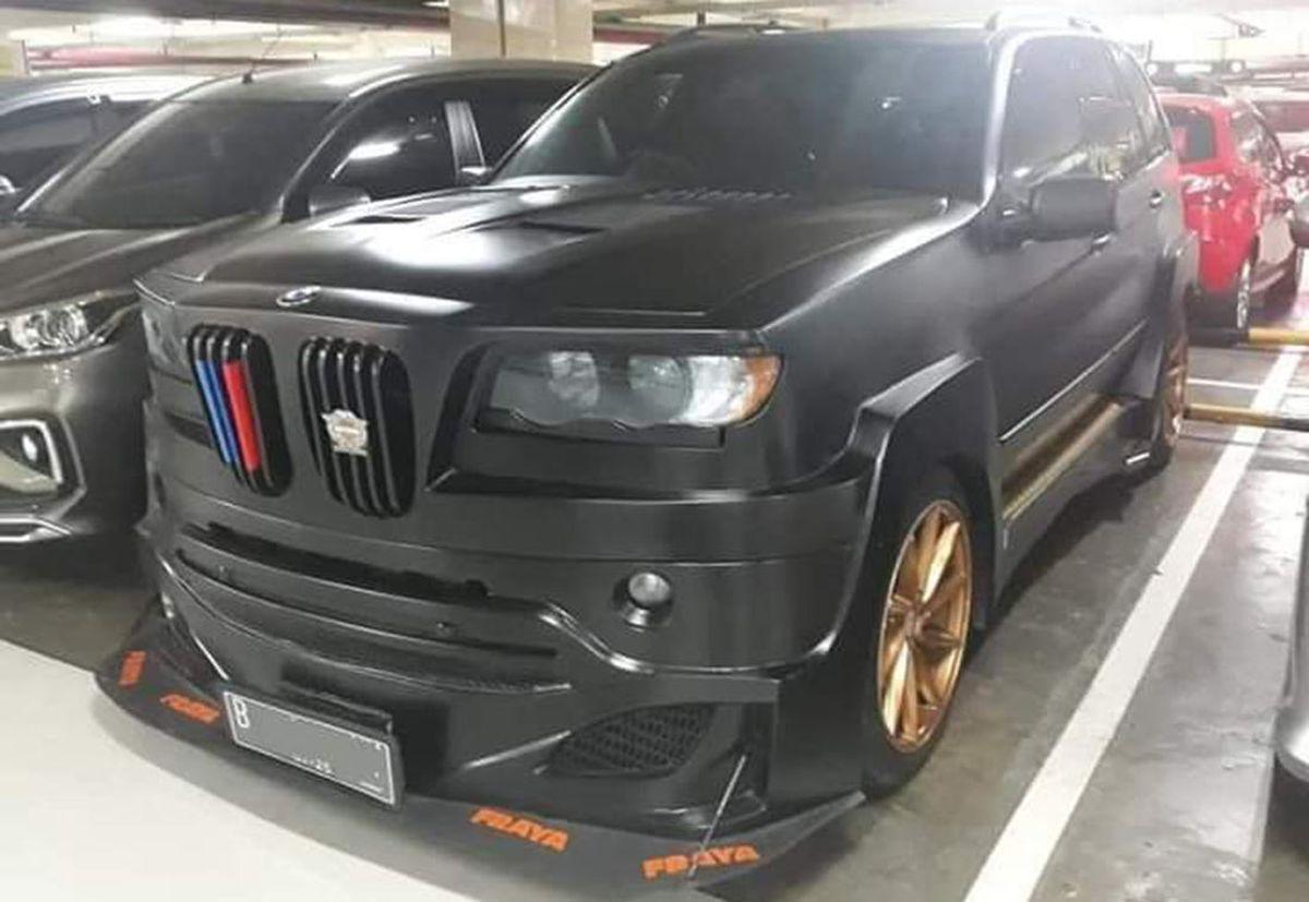 BMW X5 like atrain