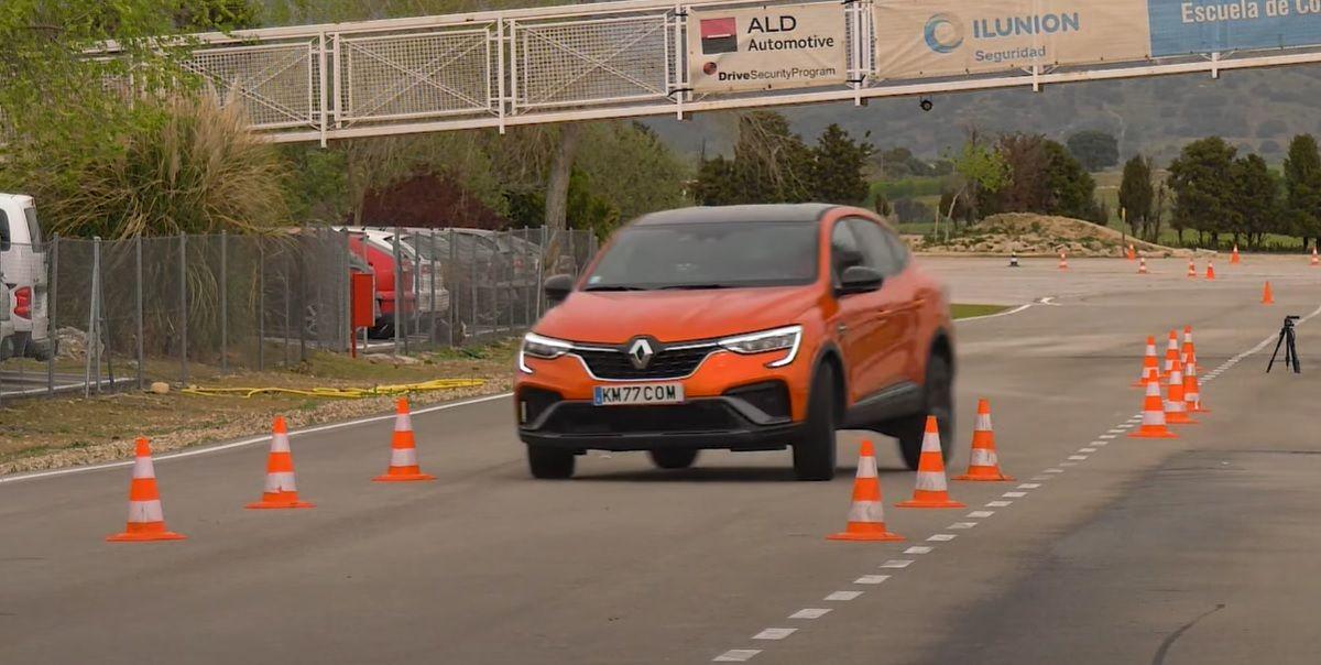 Renault Arkana test łosia