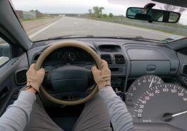 Renault Laguna I 1.6 16V acceleration