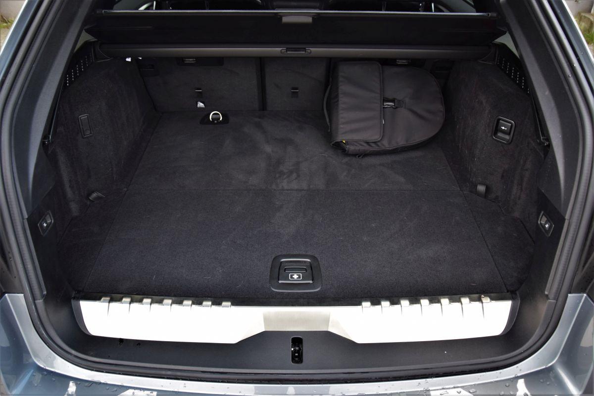 BMW 530e xDrive Touring bagażnik