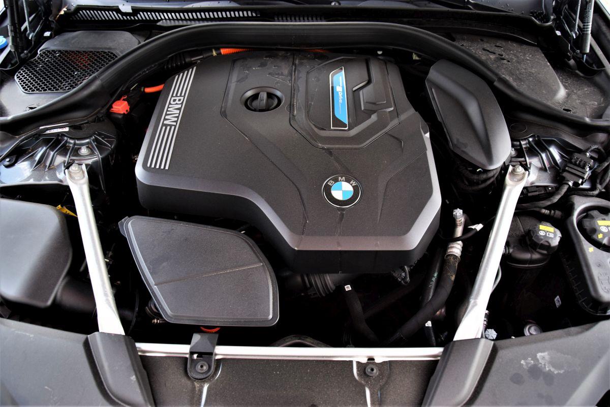BMW 530e xDrive Touring dane techniczne