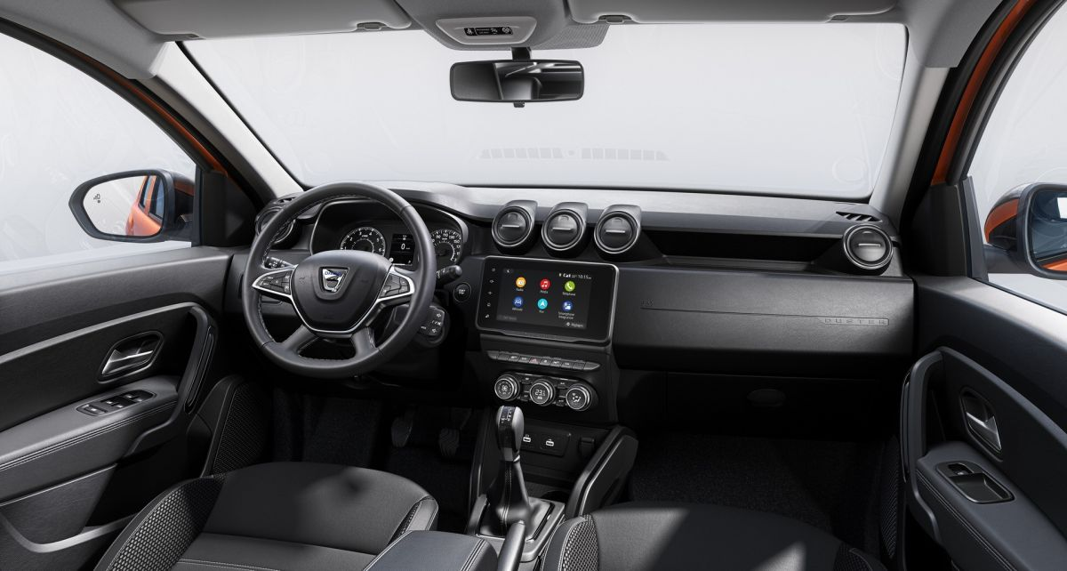 Dacia Duster 2022 wnętrze