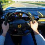 Ferrari 812 Superfast acceleration