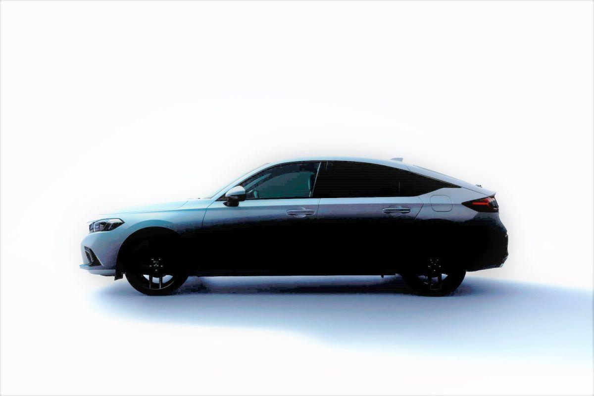 Honda Civic Hatchback 2022 design