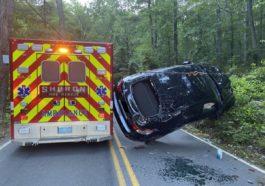 Kierowca BMW i zderzenie z karetką