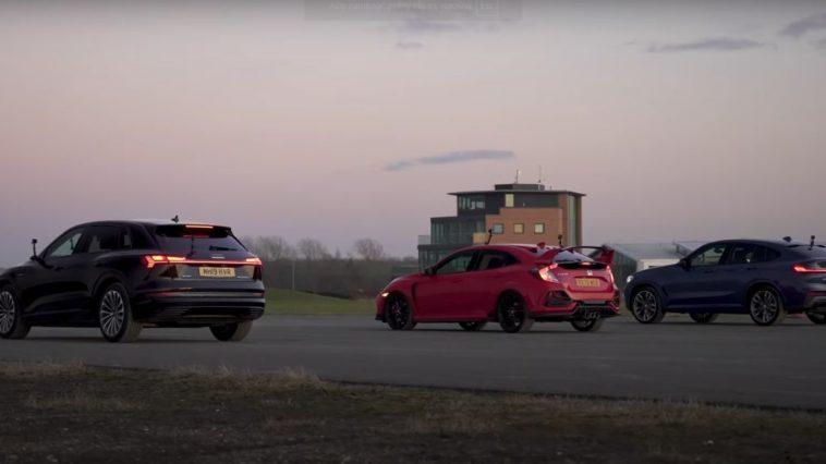 Audi e-tron vs BMW X4 m40d