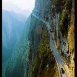 Droga przez kanion Enshi