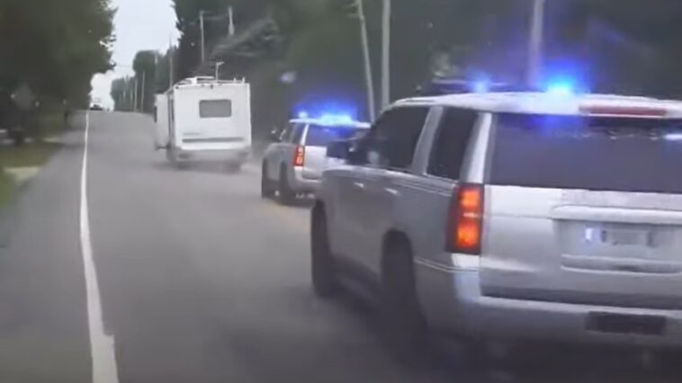 Kamper diesel ucieczka