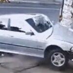 Wypadek BMW i cudem uratowane dziecko