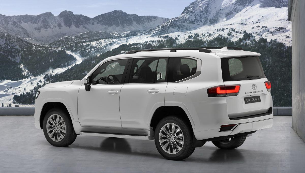 Toyota Land Cruiser 2022 design