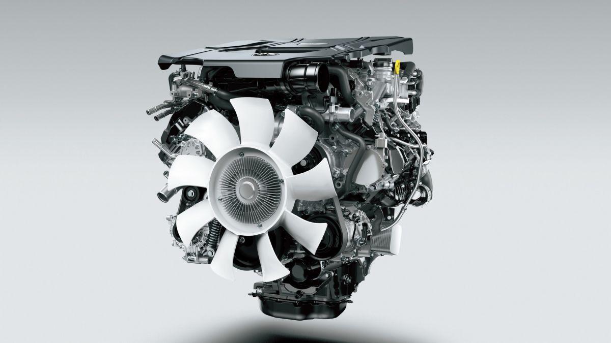 Toyota Land Cruiser 2022 silniki