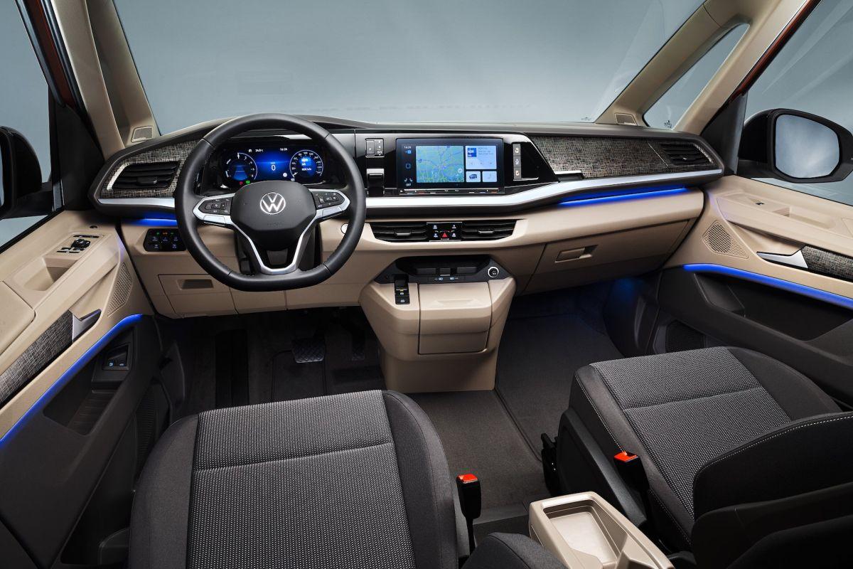 Volkswagen Multivan T7 interior