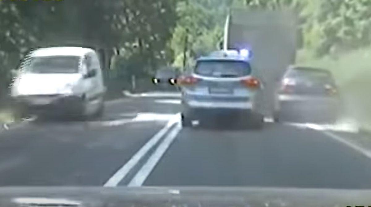 Skuteczny pościg polskiej policji