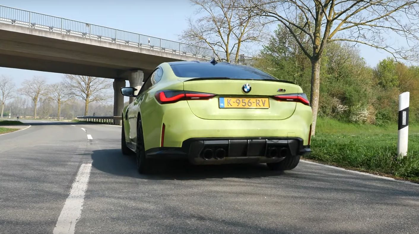 BMW M4 Competition G82 acceleration