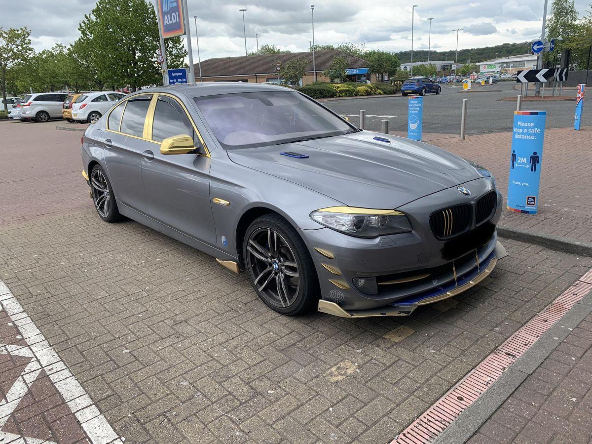 BMW Serii 5 nieudany tuning