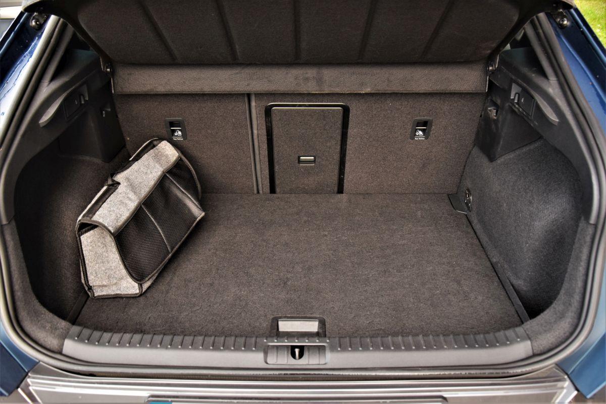 Formentor pojemność bagażnika
