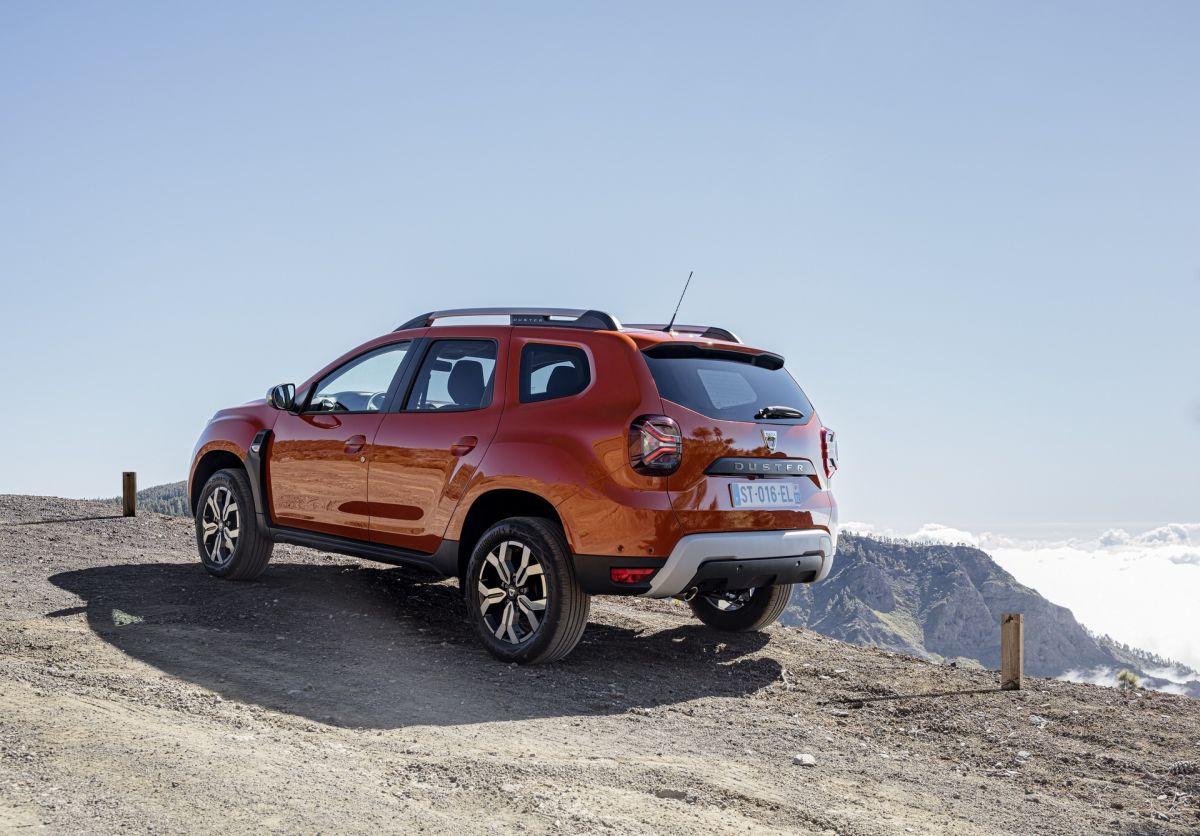 Dacia Duster 2022 lifting