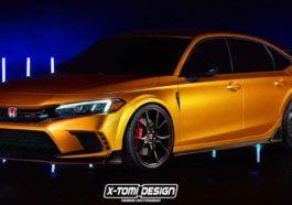 Honda Civic Type R 2022 green light