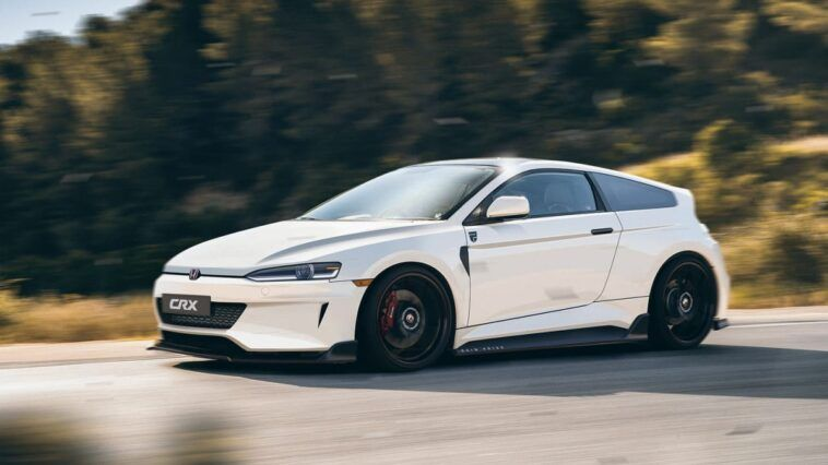 Honda CRX 2021 no official