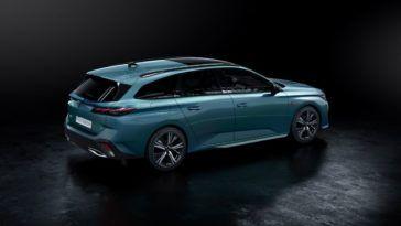 Nowy Peugeot 308 SW 2022