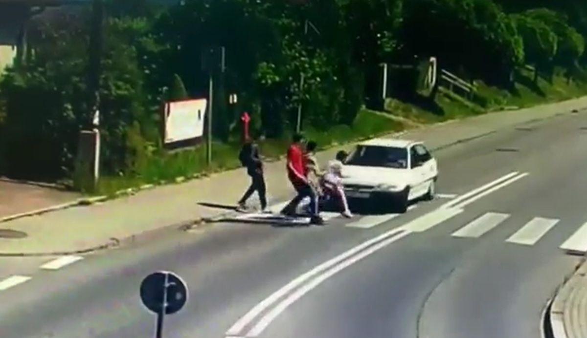 Wypadek na pasach