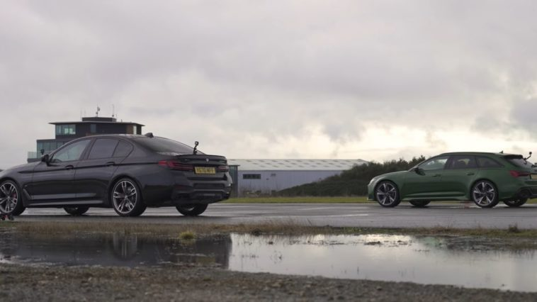 Audi RS6 vs BMW M550i