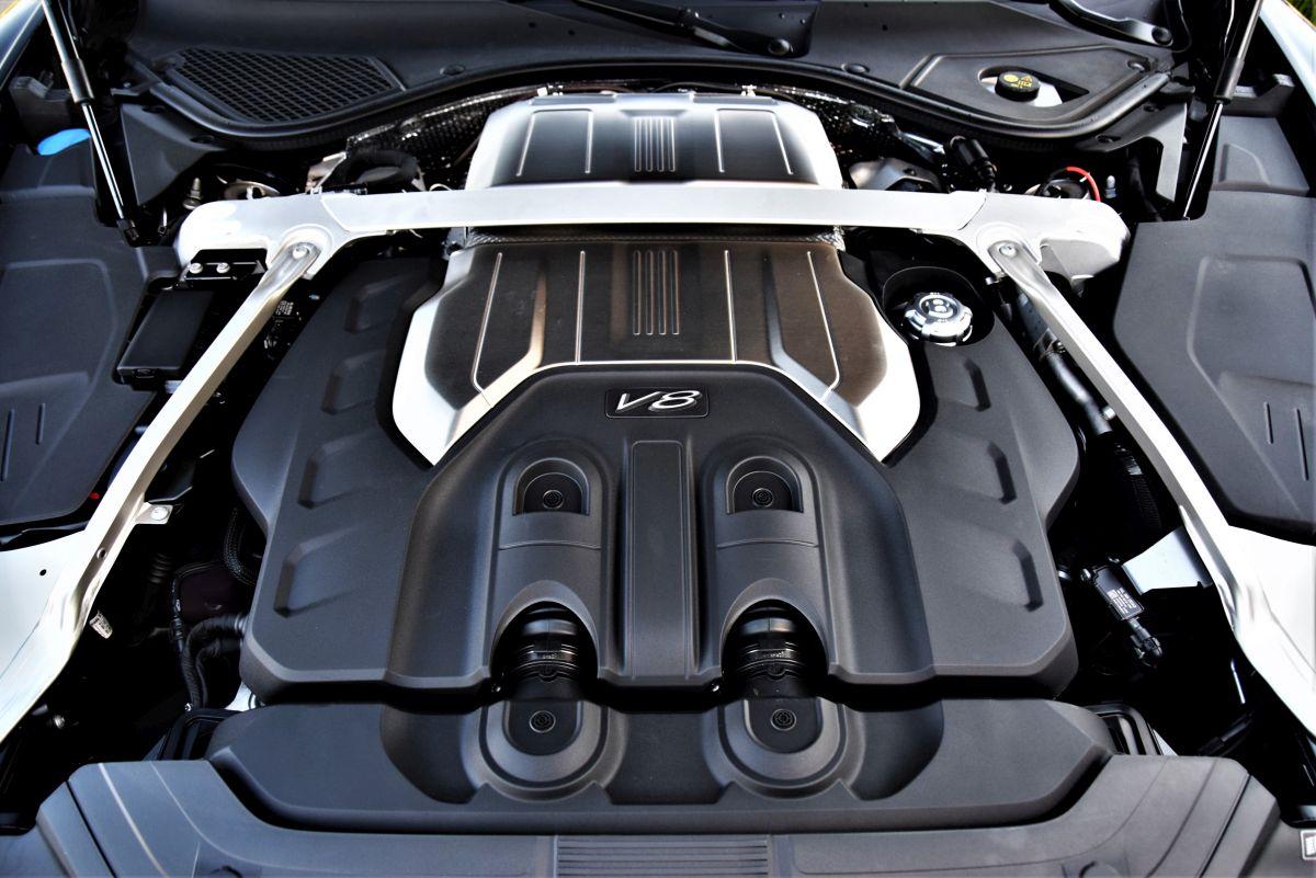 Bentley Continental GT V8 - dane techniczne