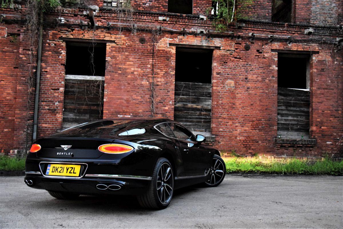 Bentley Continental GT V8 - wrażenia zjazdy