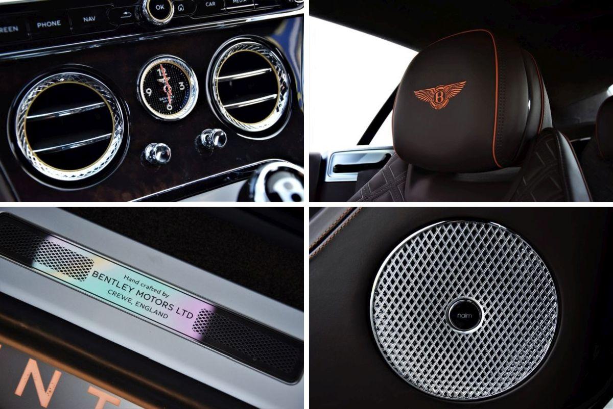 Bentley Continental - wnętrze