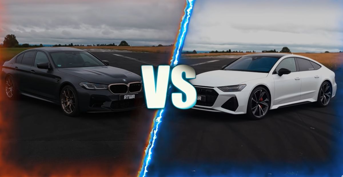 BMW M5 CS vs Audi RS7