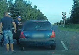 Zatrzymanie pijanego kierowcy. Miał 3 promile