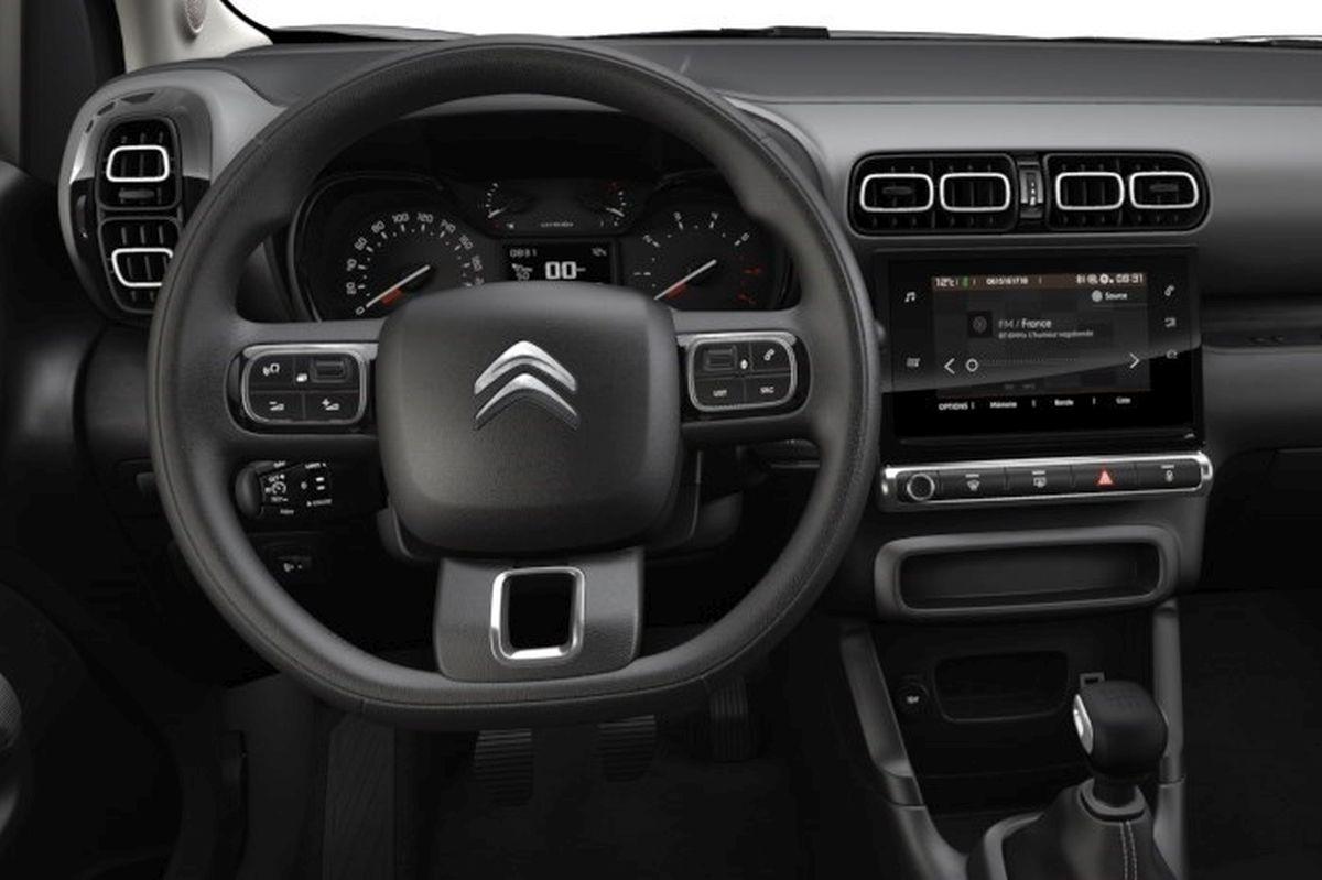 Citroen C3 Aicross Feel - wnętrze