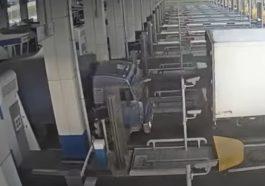 Cwaniak na bramkach autostradowych