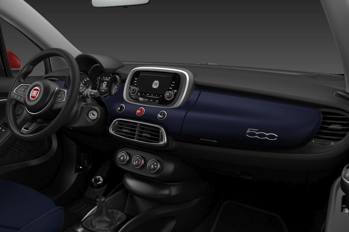 Fiat 500X Connect - wnętrze