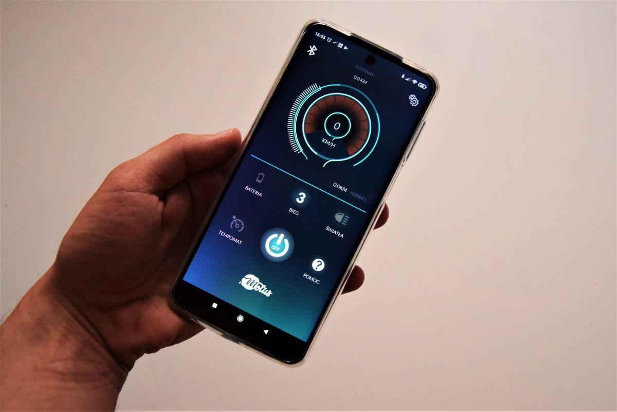 Motus Scooty 2021 aplikacja
