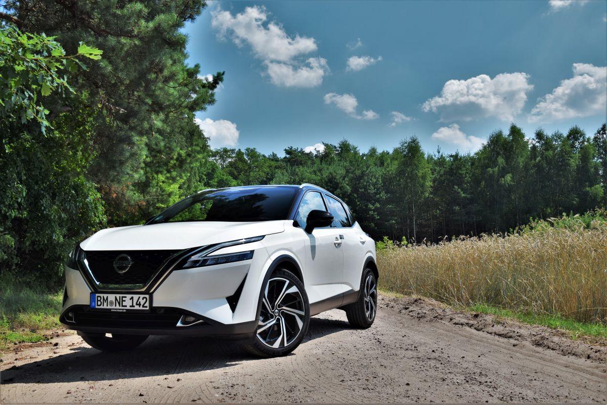 Nissan Qashqai 2021 - wrażenia zjazdy