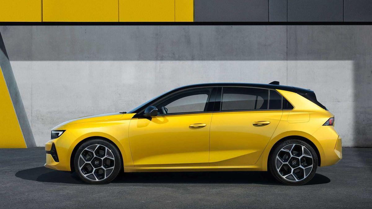 Opel Astra 2022 design