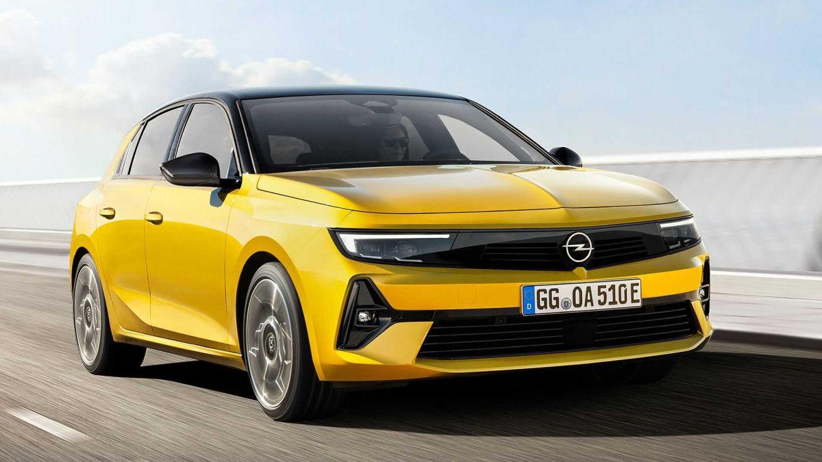 Opel Astra 2022 - silniki